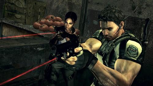 Resident Evil 5 infra-rojo