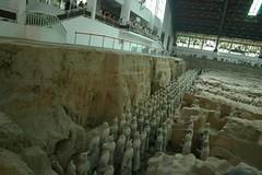始皇帝の兵馬俑