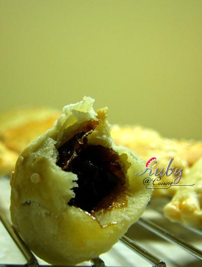 Chinese puff pastry dessert