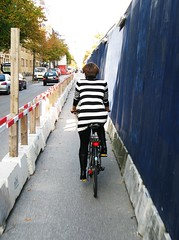 Stripes in the Bike Lane