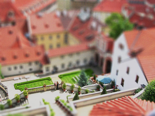 Prague - Fake Miniature