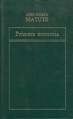 Ana María Matute, Primera memoria