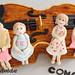 violinist and violin cake