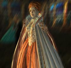 The Rainbow Dress of Queen Elizabeth I (Elif Ayiter/Alpha Auer/..../) Tags: life costume render avatar dramatic sl secondlife immersive second exquisite elizabethan shakespearean metaverse virtualworld immersed queenelizabethi periodpiece virtualenvironment rainbowdress npirl naergilienwunderlich