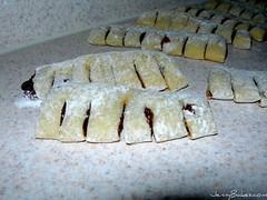 Cucidati - unbaked cookies ready