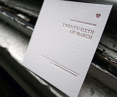 Amici letterpress wedding invitations - Bella Figura (bella figura letterpress) Tags: newyork invitation letterpress letterpressweddinginvitations bellafigura