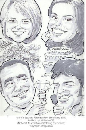 joel kweskin caricature