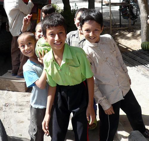 niños de kashan