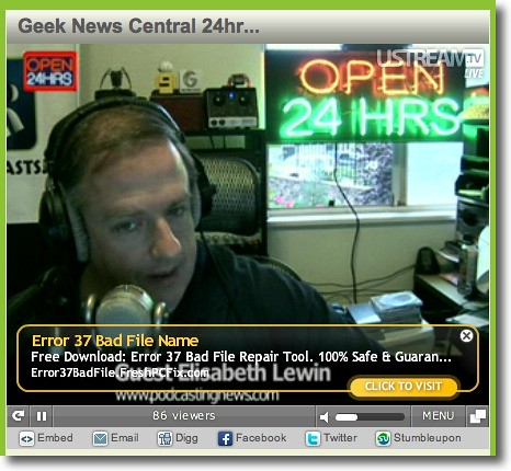 Geek News Central 24 Hour Broadcast