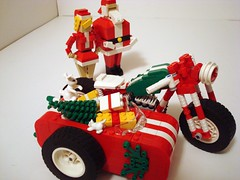 """All But Four"" LUGNuts Challenge Entry (3 of 3!)... Santa's Little Bobber"