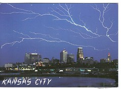 Lightning over Kansas City