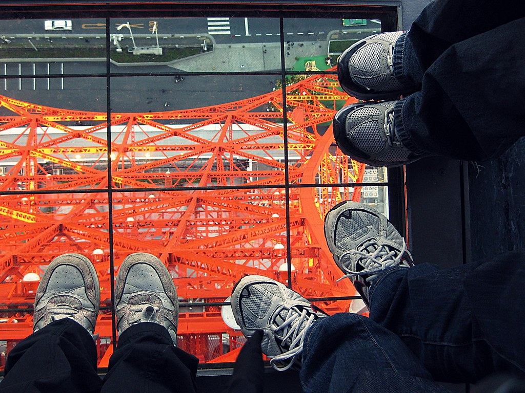 Look Down from Tokyo Tower
