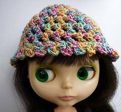 Confetti Crochet Cap for Blythe