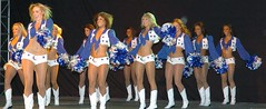 Cowboys Cheerleader Tackled Off Twitter?