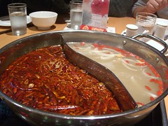 鸳鸯火锅 Spicy and Plain Hotpot - Ba Yu Ren Jia Chongqing Hotpot