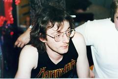 1989 - Chris Glaub - Metalspecialist at WOM Mannheim - by Affendaddy