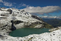 Weissee (MarekP) Tags: lake mountains alps landscape geotagged austria sterreich hiking hohetauern blueribbonwinner tauern weisssee rudolfshtte weissee anawesomeshot superaplus aplusphoto goldstaraward uppertauern geo:lat=47127089 geo:lon=12630072 berghotelrudolfshtte