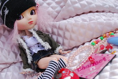 Stuff (braelin) Tags: pink friends dice game hat fashion hair sock board stock barbie best clip clothes planning wig blanket pullip jun fever papin