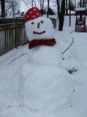 Last snowman of '08 (stevemac_yyz) Tags: dec2008