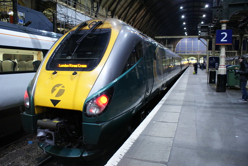 Hull Trains class 222 at London Kings Cross. por HSTcraig.