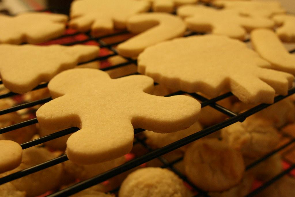 Sugar Cookies Cooling