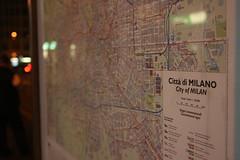 City of Milan (David Locke) Tags: milan map milano tram mappa atm pianta viaalbricci linea15
