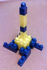 mega bloks eiffel tower model