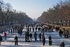Nymphenburger Kanal - im Winter das schönste Vergnügen in München