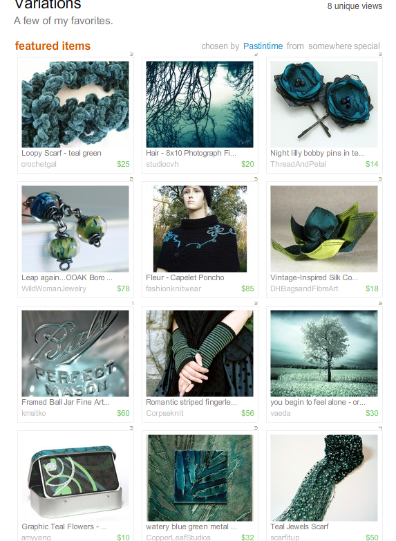 Variations Treasury by Pastintime