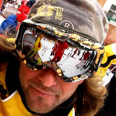 The Ski Instructor (Osvaldo_Zoom) Tags: winter snow ski reflection glasses skischool skiinstructor