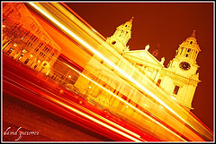 Catching light trails at St.Paul's London at Night... (david gutierrez [ www.davidgutierrez.co.uk ]) Tags: city uk travel light red urban building bus london church colors architecture night buildings dark spectacular geotagged photography photo interestingness arquitectura cityscape darkness cathedral image dusk sony centre stpauls cities trails cityscapes center structure architectural explore nighttime 350 catching londres architektur nights sensational metropolis alpha topf100 londra impressive dt nightfall municipality edifice cites f4556 100faves 1118mm sonyalpha sony1118mm sonyalphadslra350 sonyalphadslr350 sonyalphadt1118mmf4556lens sonyalphadt1118mmf4556 sony350dslra350