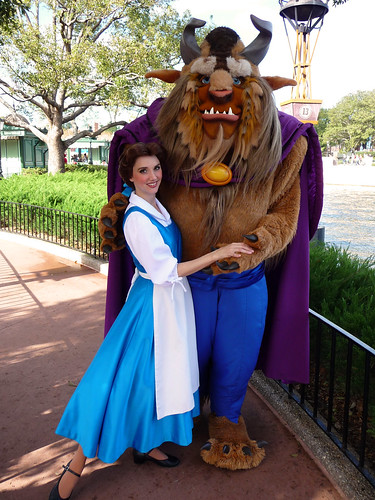 Meeting Belle and Beast