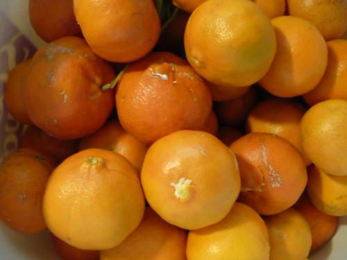 bucket o' tangerines