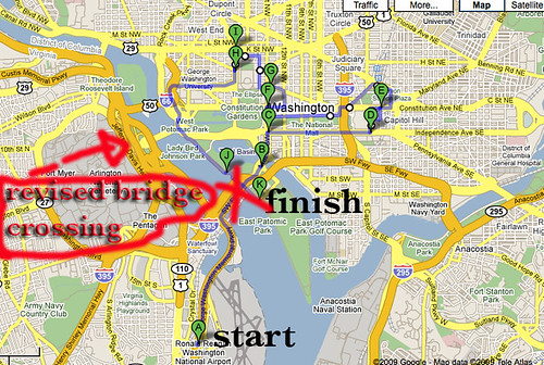 DC Biking Map revised