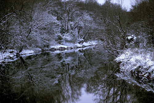 Neuse River Snow (by SingNShoot)