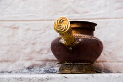 The Incense Holder (Shubh M Singh) Tags: india wall architecture nikon alone peace dof buddhist refugee ceremony buddhism tibet tibetan d200 incense dharamshala tantra mcleodganj kangra himalyas mcleodgunj nikonstunninggallery tibetanrefugees