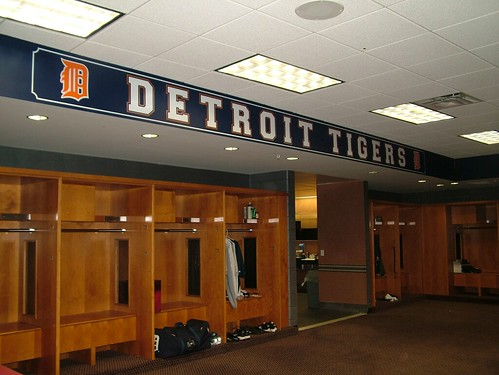 Tigers clubhouse