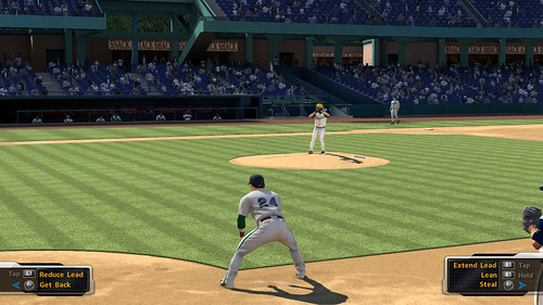MLB 09 The Show screenshot - RTTS Baserunning Controls