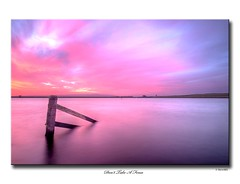 Don't Take A Fence (SteveMG) Tags: longexposure sky silhouette landscape dawn yorkshire reservoir smg tarn picturesque yorkshiredales 10mm embsay