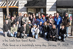 Grand Rapids Flickr Group Meetup. (Photoshoparama - Dan) Tags: michigan photoshopped group grandrapids retouched flickrwalk absolutemichigan dsc7649 johnsongraphics photoshoparama danielejohnson biggbys crossroadonecom twopeopleadded dennisandyolanda