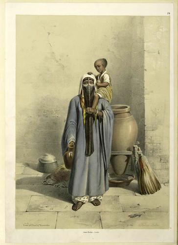 Mujer Fellah 1851