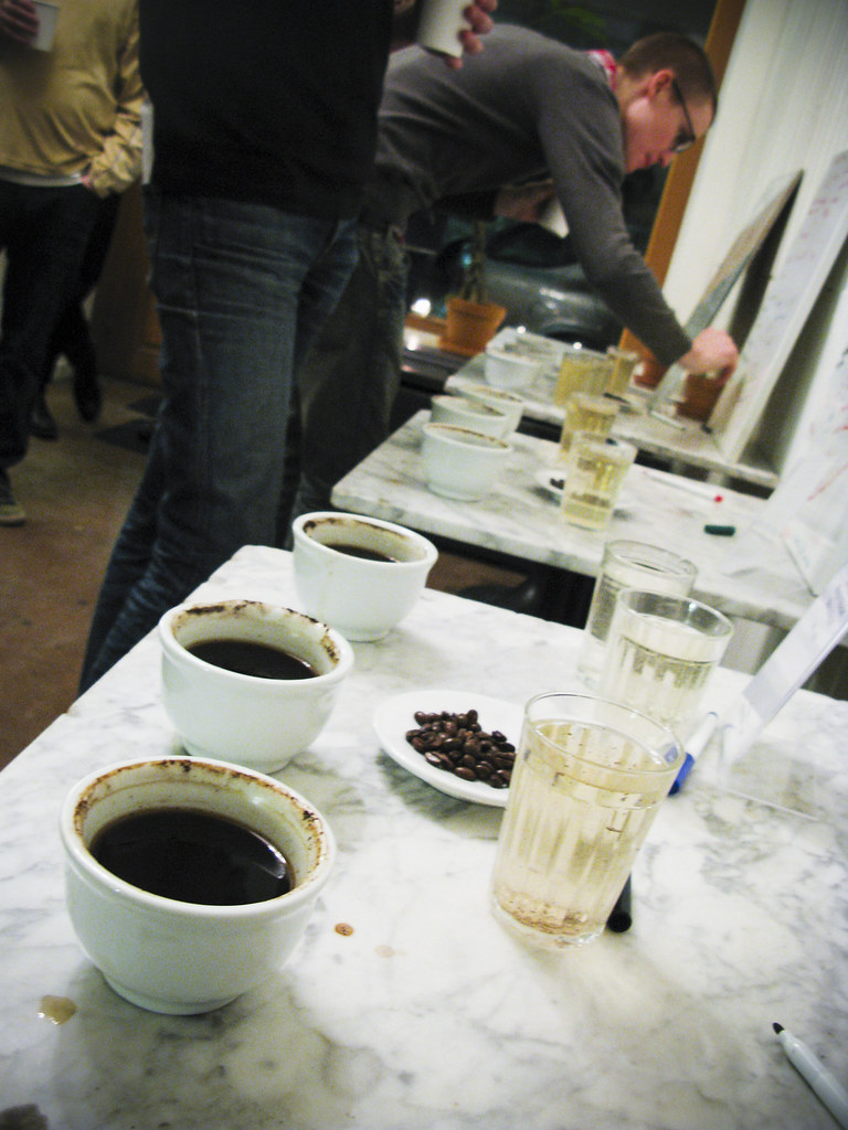 Coffee Cupping @ CoffeeLab Sthlm Feb 2009