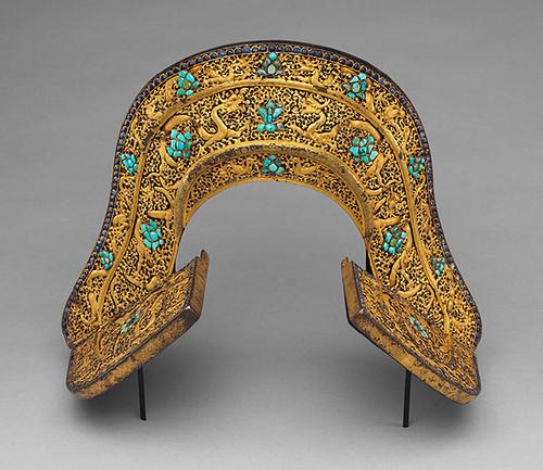 018a- Conjunto de silla de montar-aC 1400-Tibetano o chino- Copyrigth © 2000-2009 The Metropolitan Museum of Art