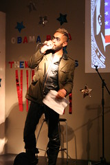 Takin' his own sweet time... (THEWHATWORKS) Tags: ballet music london america drag dance ballerina poetry singing theatre politics performance clubbing striptease nightlife visuals breakdance cabaret burlesque obama inauguration spokenword popping vjing obamarama