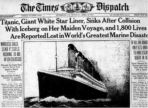 El naufragio en The Times