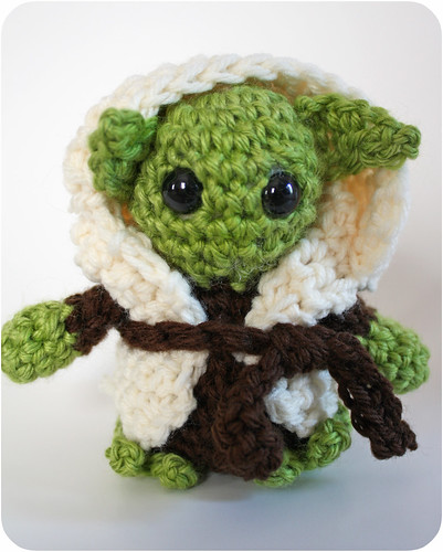 crochet yoda tutorial