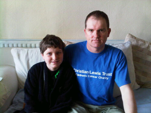 Pads and Dads (with Christian Lewis Trust T-shirt)