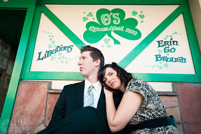 o'haras pub engagement session