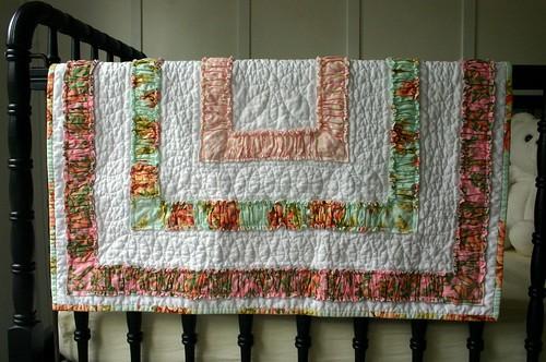 Ruffle Quilt - crib