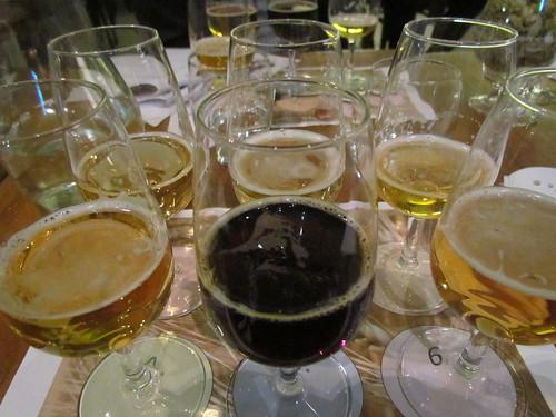 Lager tasting at Brew Wharf